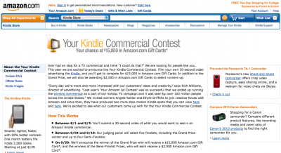 Kindle-contest