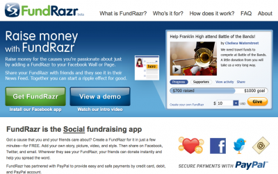 PayPal-Fundrazr
