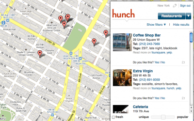 hunch-location-based-servise