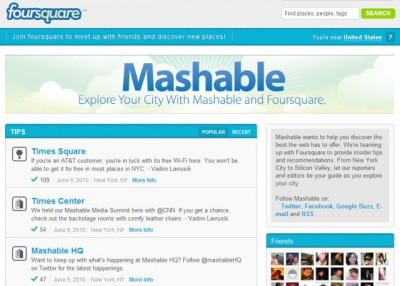 foursquare-mashable
